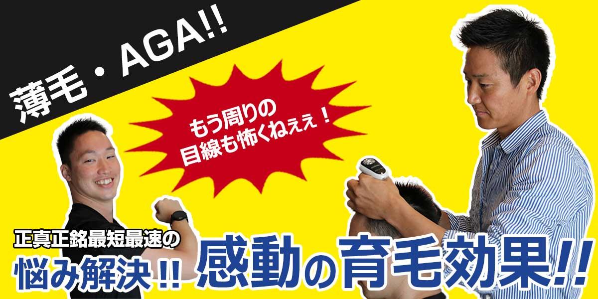 豊川市で薄毛・AGAをお探しなら俺の毛豊川市店